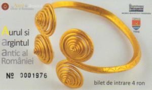 bilet expozitie aur